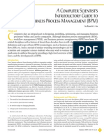 Introductory Guide to BPMS