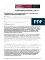 How Mandatory Reporting on Sustainability Pays Off - Harvard B Review
