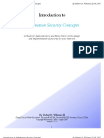 Introduction to Information Security Concepts