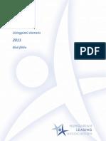 Lízingpiac 2011 első félévében