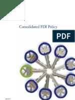 FDI Policy - April 2011