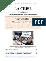 La Crise No16