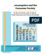 Goodwin Nelson Ackerman Weisskopf Consumption and the Consumer Society