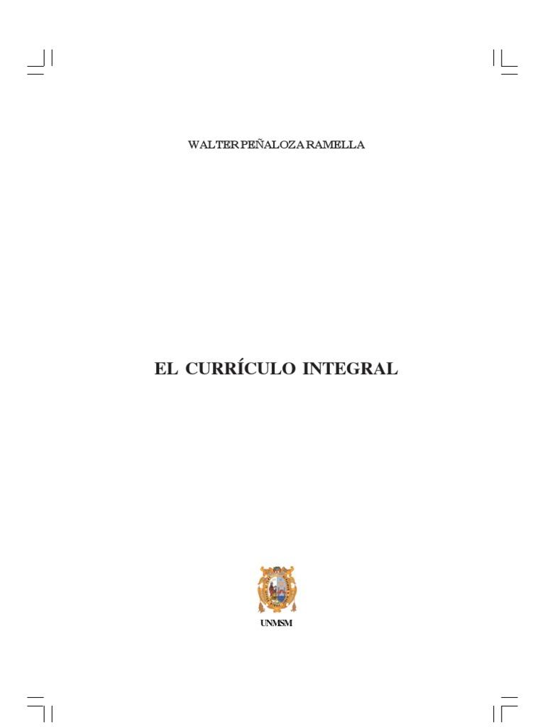 curriculo integral- Peñaloza- unmsm