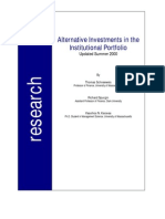 Alternative Investments in the Institutional Portfolio