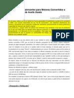 Desarrollo de Aceites para GNC y Análisis de Aceite