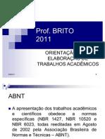 Metodologia Para Projeto e Monografia 2011
