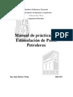 Manual de Practicas Estimulacion de Pozos