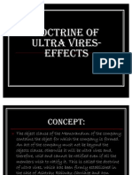 Doctrine of Ultra Vires-effects Fal Ppt