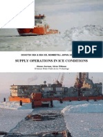 Supply Operations in Ice