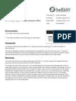Audit Committee Agenda 110809 1 Full Report