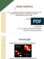 ácido Sulfúrico contato grupo 4