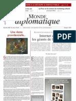 [FR] Le Monde Diplomatique - decembrie 2009