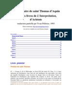 Toma - In Perihermeneias (de Interpretatione)(2)