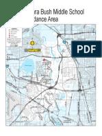 Attendance Zone Map - Bush