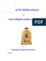 Vision of Sri Madhvacharya and Guru Raghavendra