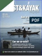 Coast&Kayak Magazine Fall 2011