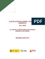 Resumen_ejecutivo_plan Ahorro Energia 2011-2020