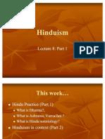 GEK1045 Lecture 8 Hinduism