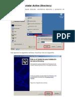 Instalar Active Directory
