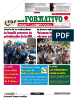 Informativo Bogota-Cundinamarca 82. Impunity