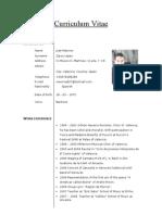 Curriculum Vitae English