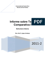 Informe Sobre Tabla Comparativa I-VF
