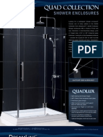 Dream Line Showers Quad Enclosures
