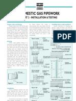 Domestic Gas Installation Testing