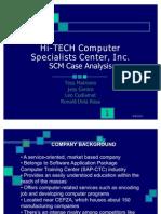 Hi-Tech SCM - Final