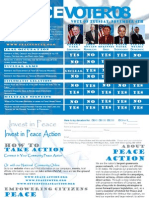 Peace Action Presidential Voter Guide