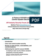 A Future of SCADA and Control System Security