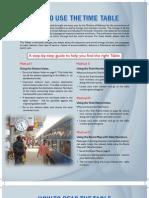 Indian Railways Timetable 2009