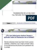 Tema 1 Introduccion a La Planeacion de La Calidad