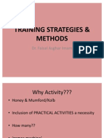 Training Strategies & Methods