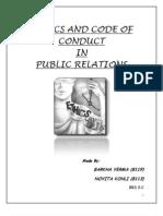 Public Relations Projct