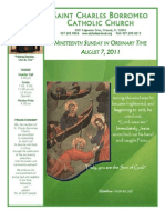 August 7, 2012 Bulletin