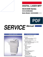 Samsung Scx-6345 Scx-6345n Service Manual Repair Guide