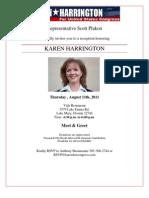 Karen Harrington Invite