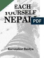 Teaching Nepali