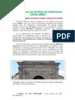 Masones en Las Arribes de Salamanca, por Anastasia Sánchez