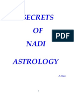 Secrets of Nadi Astrology