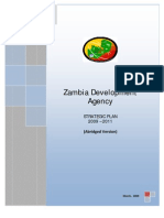 ZDA Strategic Plan- Abridged Version
