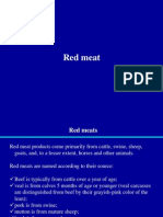 Animal Products Quality Control Red Meat