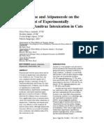 Yohimbine and Atipamezole on the Treatment of Experimentally Induced Amitraz Intoxication in Cats