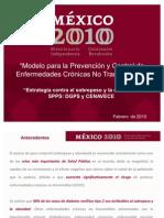 Modelo Ec Abordaje Obesidad 2010 Cenavece Dgps