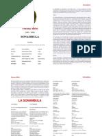Vincenzo Bellini Sonambula