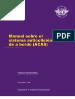 DOC. 9863 Manual sobre el sistema anticolisió de abordo (ACAS) es