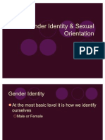 Sexual Development and Orientation