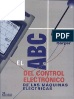 El ABC del control electrónico de las máquinas eléctricas Escrito por Gilberto Enríquez Harper